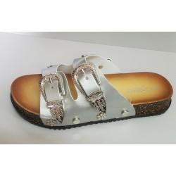 Dámské pantofle Silver